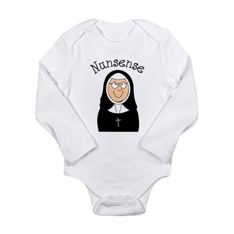 Nunsense Long Sleeve Infant Bodysuit