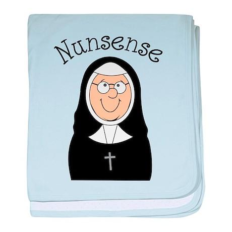 Nunsense baby blanket