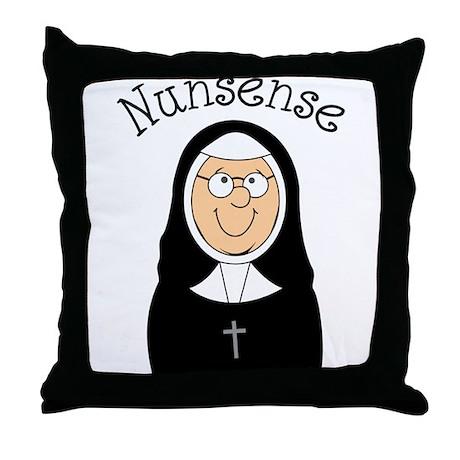 Nunsense Throw Pillow