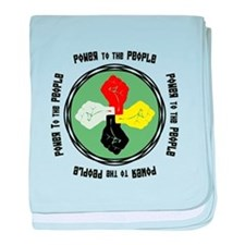 Power to the People baby blanket