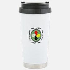 Power to the People Stainless Steel Travel Mug