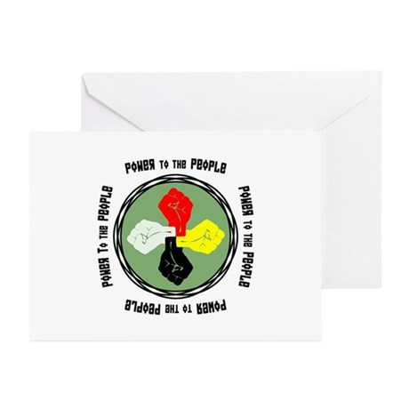 Power to the People Greeting Cards (Pk of 10)