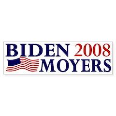 Biden-Moyers 2008 bumper sticker