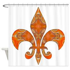 Royalty Fleur De Lys Shower Curtain