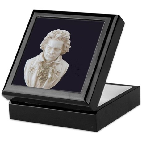 Beethoven Bust Keepsake Box