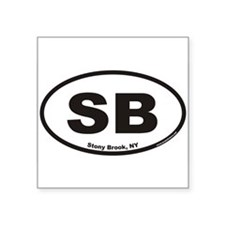 Stony Brook SB Euro Oval Sticker