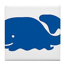 Blue Whale Tile Coaster
