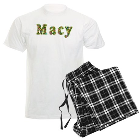Macy Floral Men's Light Pajamas