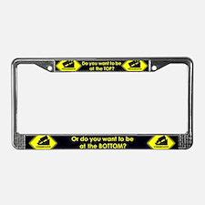 Progressive or Conservative License Plate Frame
