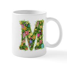 M Floral Mug