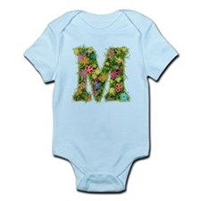 M Floral Infant Bodysuit