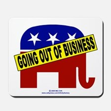 Going Out of Business Repubs Mousepad
