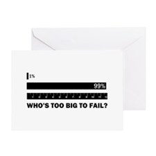 Who's Too Big to Fail Greeting Card