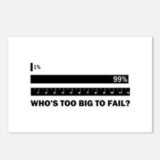 Who's Too Big to Fail Postcards (Package of 8)