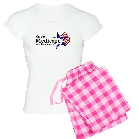 Save Medicare Democratic Women's Light Pajamas