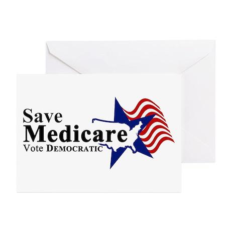 Save Medicare Democratic Greeting Cards (Pk of 20)
