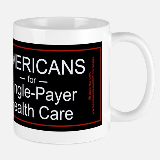 Americans Single Payer Health Mug