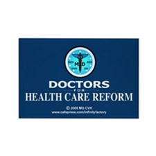 Doctors Health Care Reform Rectangle Magnet