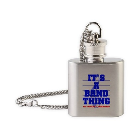 It's A Band Thing... Flask Necklace