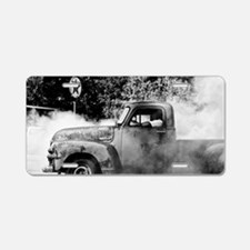 Cool Smoke out Aluminum License Plate