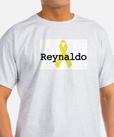 Yellow Ribbon: Reynaldo Ash Grey T-Shirt