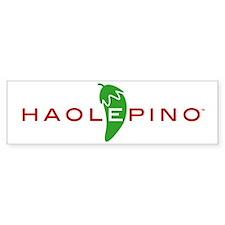 Haolepino Bumper Bumper Sticker