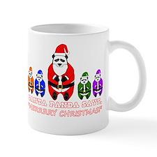 Merry Christmas Santa Panda Mug
