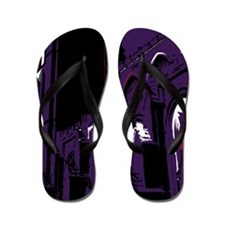 Haunting Cathedral Flip Flops
