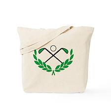 Golf logo Tote Bag