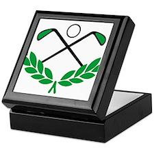 Golf logo Keepsake Box