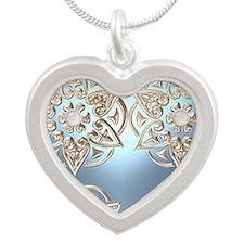 Designer Originals Silver Heart Necklace
