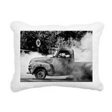 Unique Burnout Rectangular Canvas Pillow