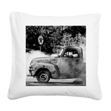 Burn out Square Canvas Pillow