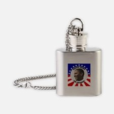 Obama Election Flask Necklace