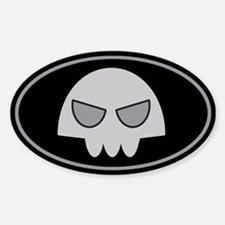 Buford's Skull Stickers