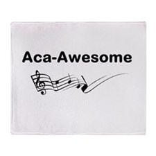 Aca-Awesome Quote Throw Blanket