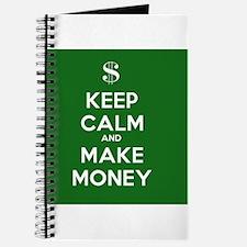 Keep Calm and Make Money Journal