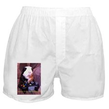 Guinea pig on xbox controller Boxer Shorts