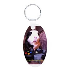 Guinea pig on xbox controller Keychains