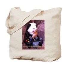 Guinea pig on xbox controller Tote Bag