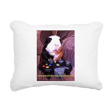Guinea pig on xbox controller Rectangular Canvas P