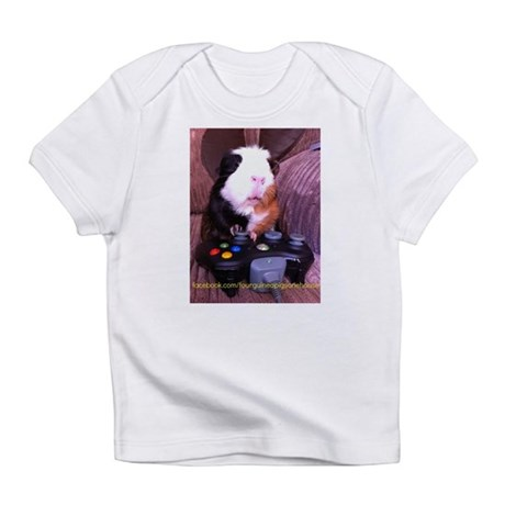 Guinea pig on xbox controller Infant T-Shirt