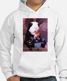 Guinea pig on xbox controller Jumper Hoody