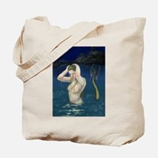 Mermaid In the Water Tote Bag