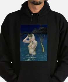 Mermaid In the Water Hoodie (dark)