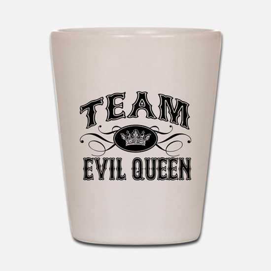 Team Evil Queen Shot Glass