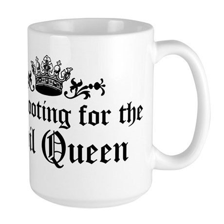 I'm Rooting For The Evil Queen Large Mug