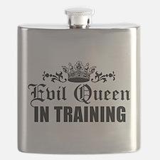 Evil Queen In Training Flask