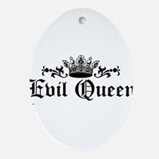 Evil Queen Ornament (Oval)