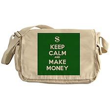 Keep Calm and Make Money Messenger Bag